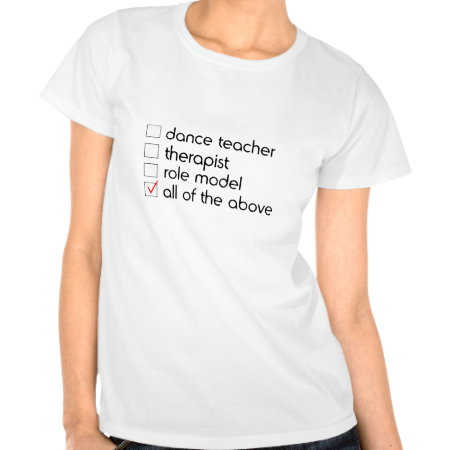 Dance Teacher Checklist TShirt Nana t