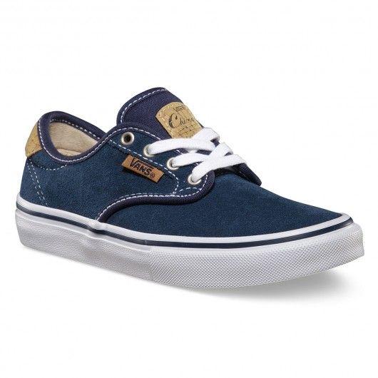 VANS Chima Ferguson Pro cork navy khaki chaussures enfants
