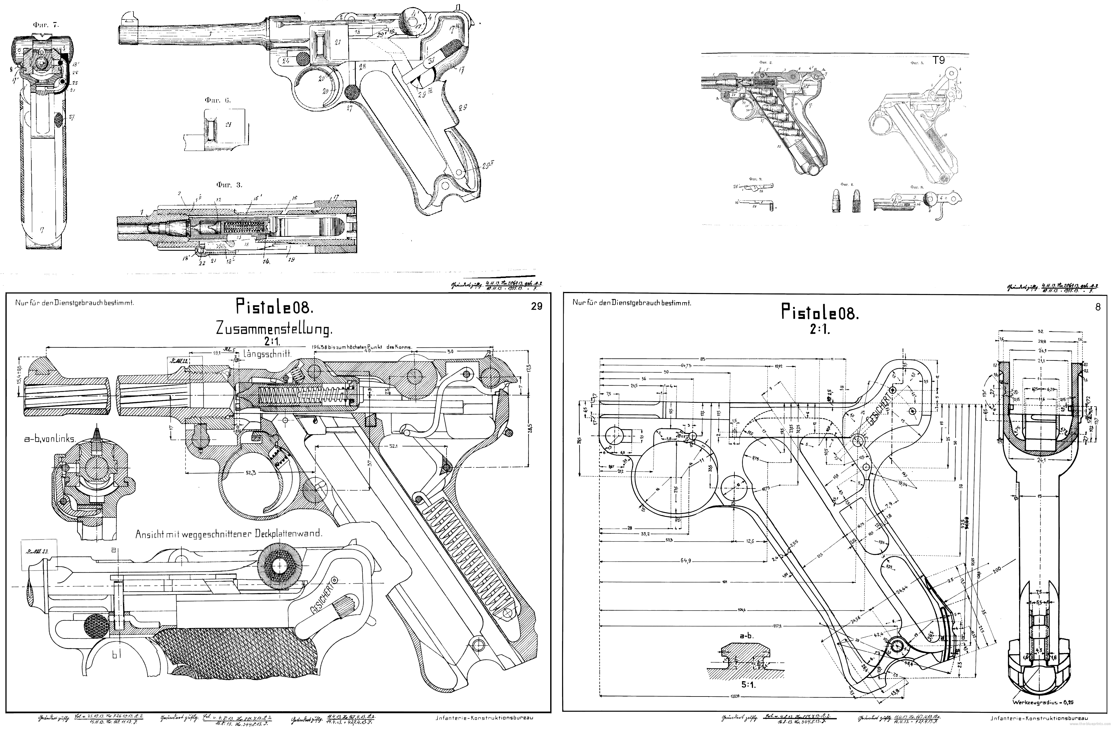 Mauser P08 Construction PlanLoading that magazine is a pain! Get ...