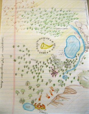The 74th Hunger Games Arena Map Teaching #TheHungerGam...