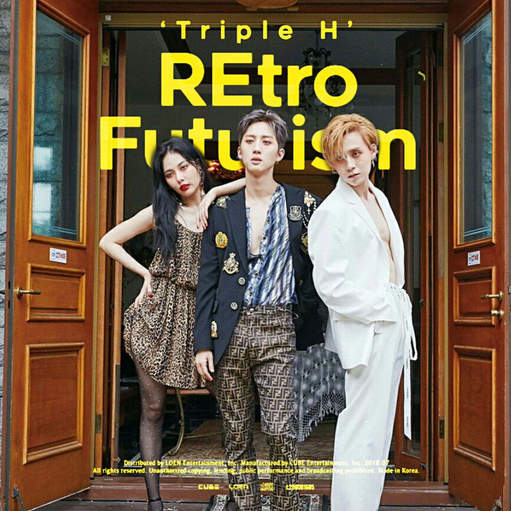 Triple H Retro Future Retro Futurism Album Cover By Lealbum Triple H Retro Futurism Album Covers