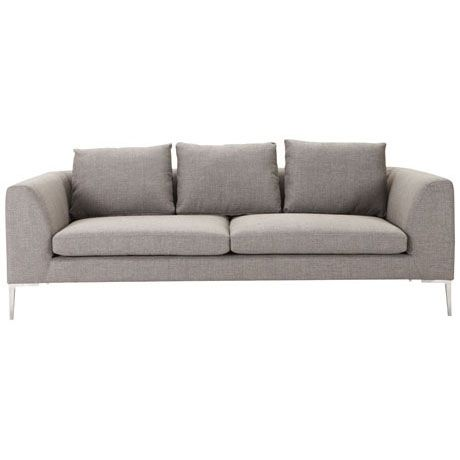 Enjoyable 1399 Hilton 3 Seat Sofa Esquire Pewter Freedom Furniture Bralicious Painted Fabric Chair Ideas Braliciousco