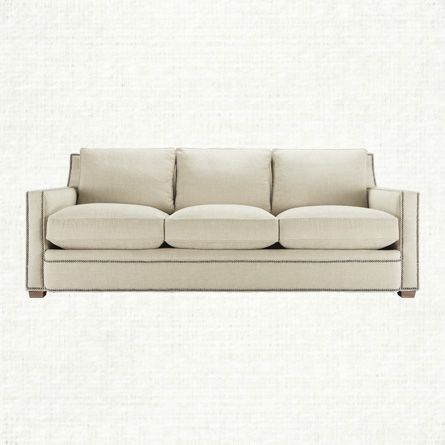 view the trent sofa from arhaus trent is ever so transitional in rh pinterest com