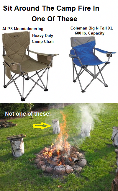 Miraculous Enjoy One Of These Heavy Duty Folding Portable Camp Chairs Theyellowbook Wood Chair Design Ideas Theyellowbookinfo
