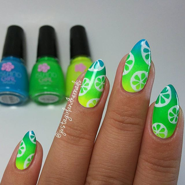 Pin de Fazoo Bear en Cute summer nails | Pinterest