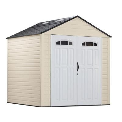 Mom And Dad Got This And They Really Like It They Make A Larger One But It S 300 Mor Outdoor Storage Buildings Outdoor Storage Sheds Plastic Storage Sheds