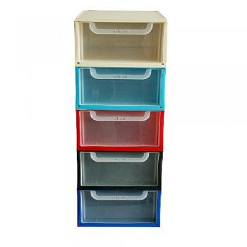 This box is great for craft storage  It is a plastic drawer system