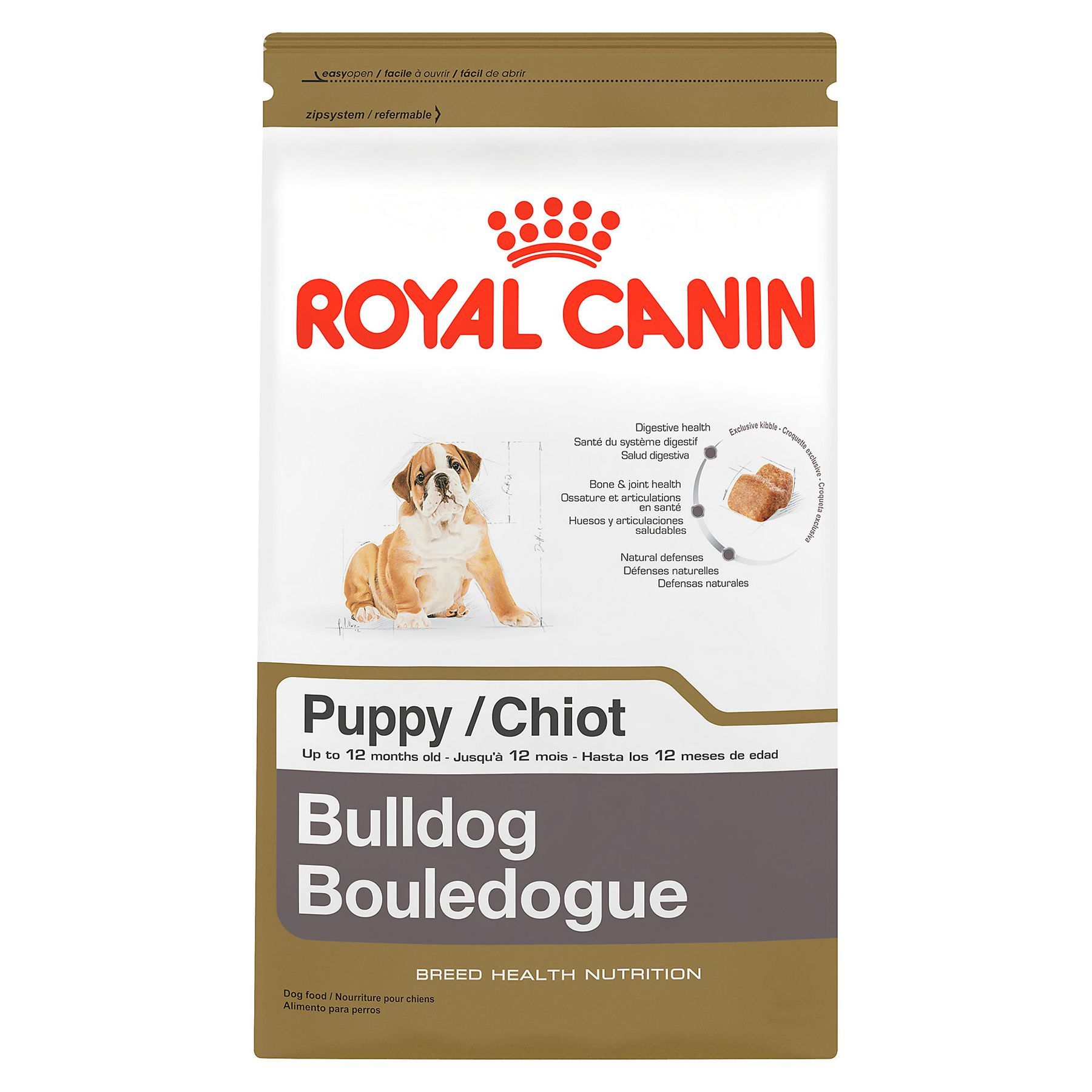 Royal Canin Breed Health Nutrition Bulldog Puppy Food In 2020