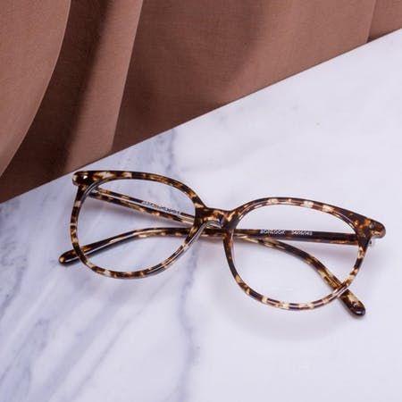 Photo of Women's Eyeglasses – Area in Onyx Marble | BonLook