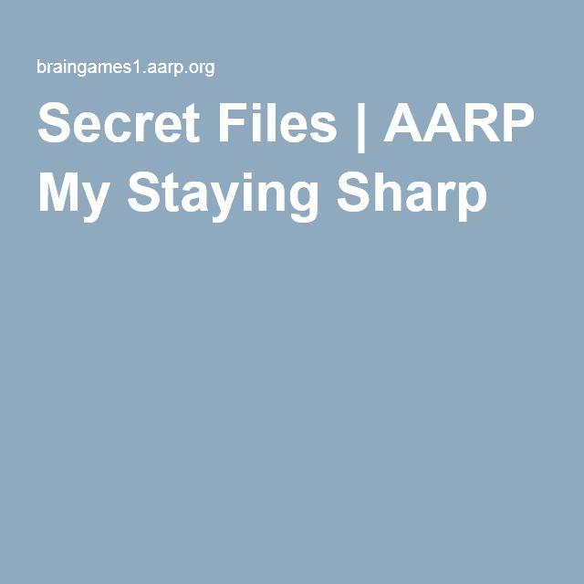 Aarp Split Staying Sharp Words My