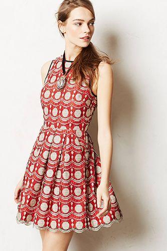 Hunter Dixon by Hunter Bell Maraschino Lace Dress