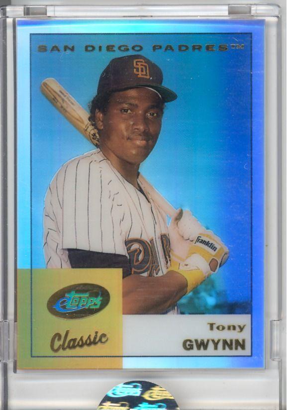 Tony Gwynn San Diego Padres Card Etopps Cards Baseball