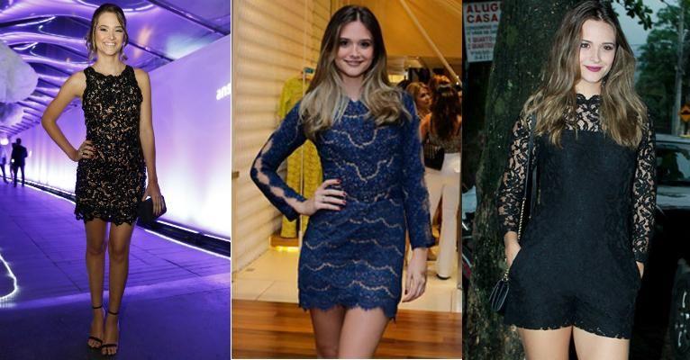 Inspire-se no estilo de Juliana Paiva com 10 tendências de moda da atriz