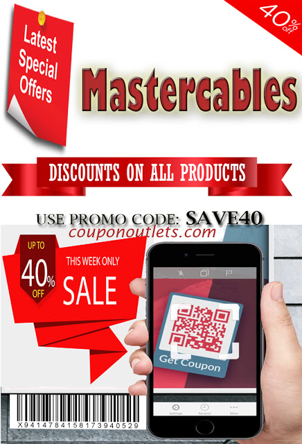 Mastercables In 2020 Digital Coupons Coupons Promo Codes