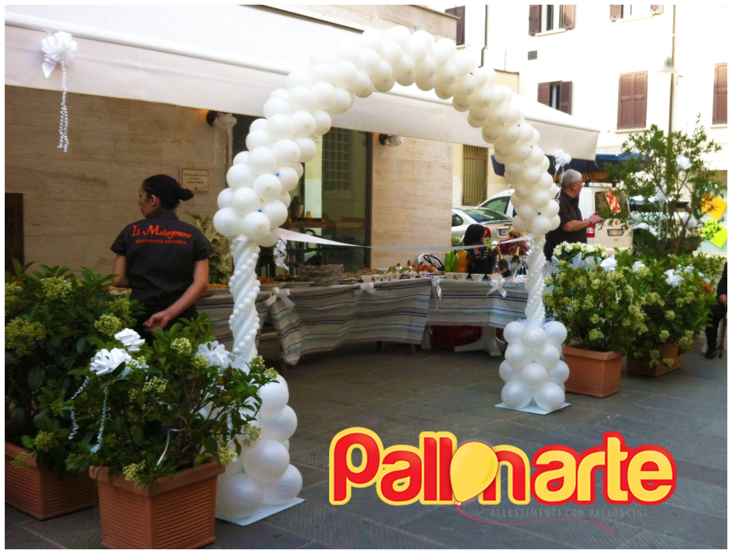 Arco Con Palloncini Matrimonio Palloncini Palloncini Matrimonio Matrimonio