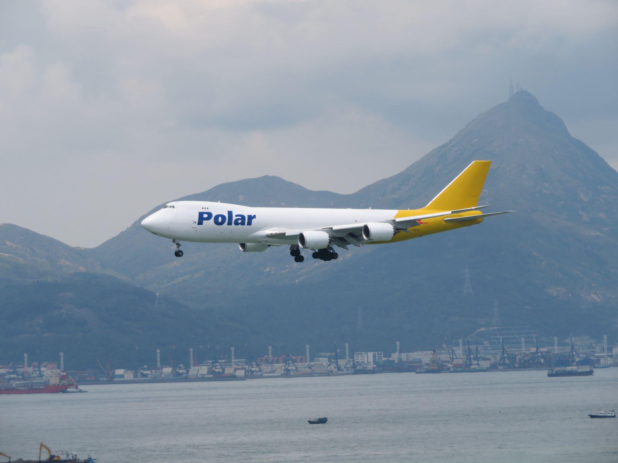 N857GT Atlas air, Polar air, Air cargo