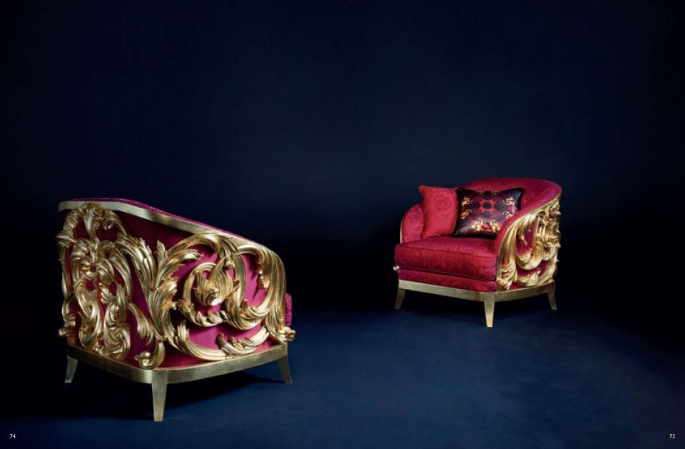 Versace Furniture Upholstered Furniture Versace Acanthus Seriesfurniture From Italy Versace Furniture Armchair Furniture Furniture