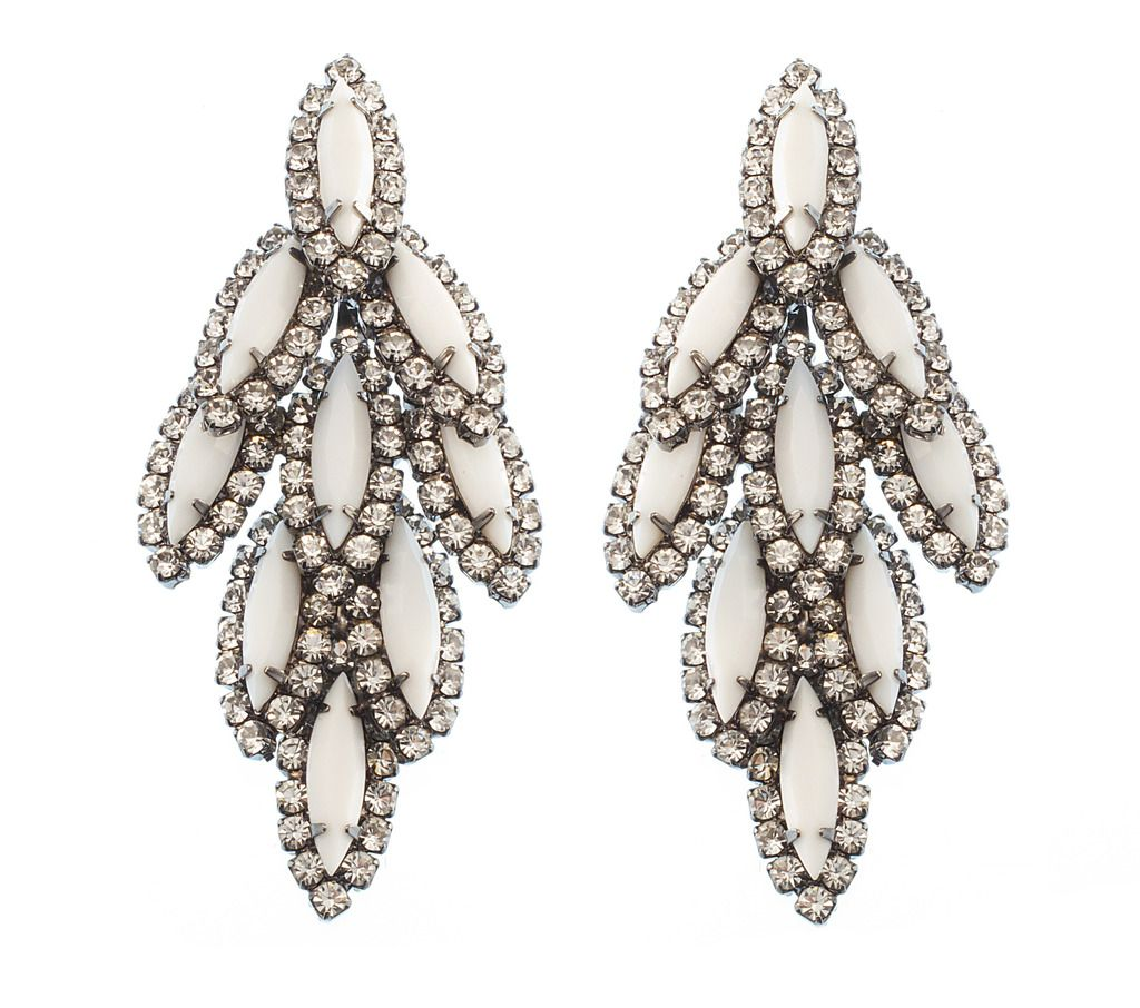 Opal Earrings Wear With Jovani Style 6540