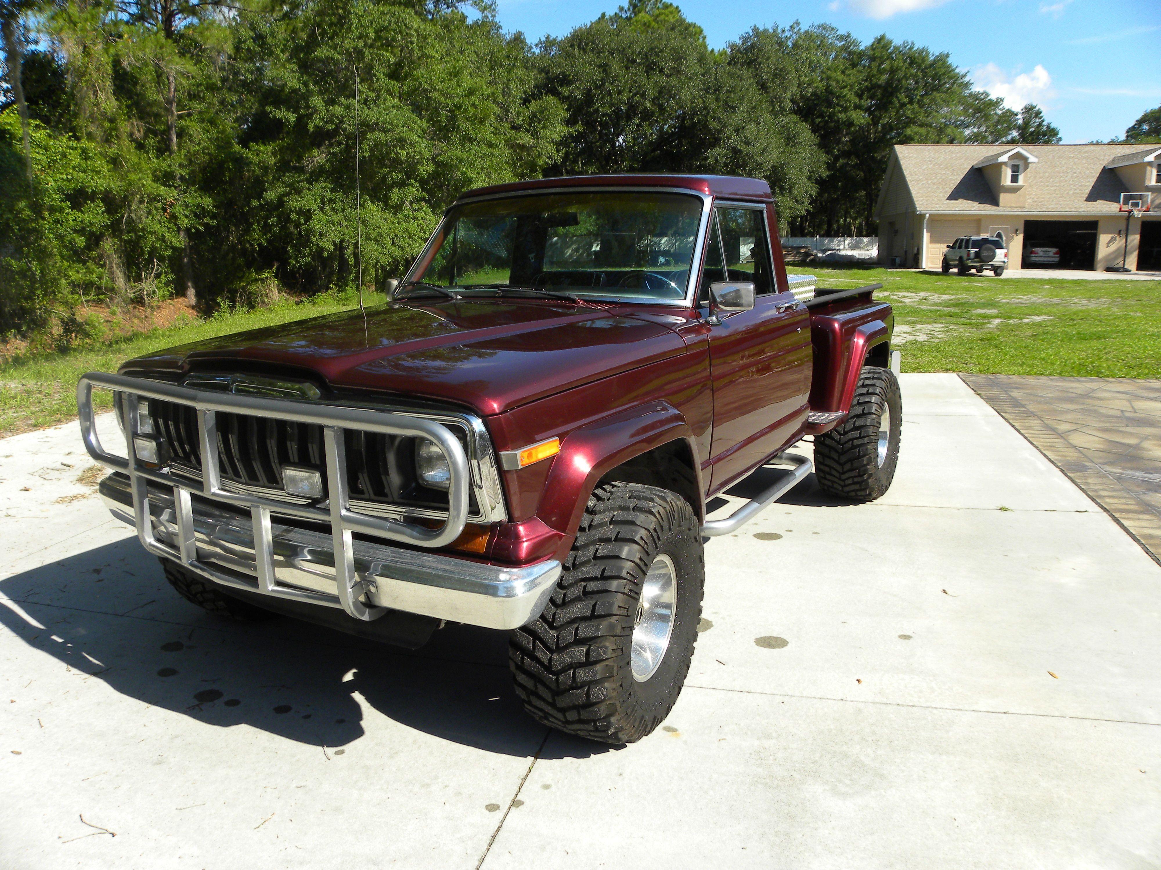 1982 Jeep Honcho Jeep Truck Jeep Pickup Truck Jeep Pickup