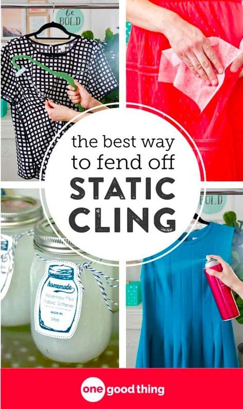 The 5 Best Ways To Get Rid of Annoying Static Cling ...