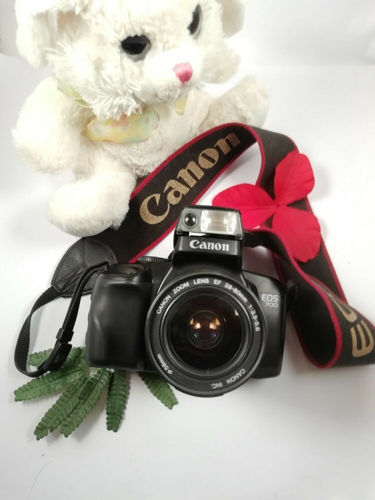 Canon Eos 700 Slr Film Camera With 28 80 Mm Lens Kit Canon Fd Working Canon Slr Film Camera Canon Eos 700 Camera