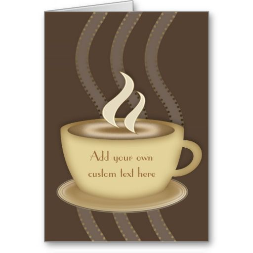 Gift Ideas for Coffee Lovers | Coffee Lovers Notecards Greeting Cards