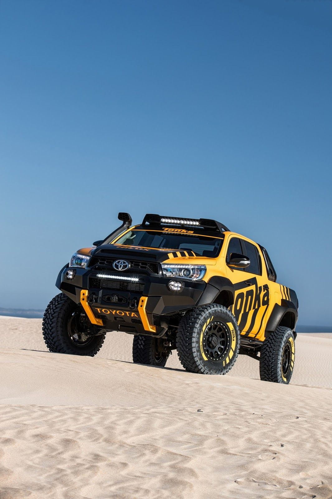 Toyota Hilux Tonka Concept Is A Dream Toy For Adults | Carscoops