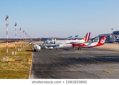 Düsseldorf, Germany 24 Mai 2018 Airplanes of EUROWINGS