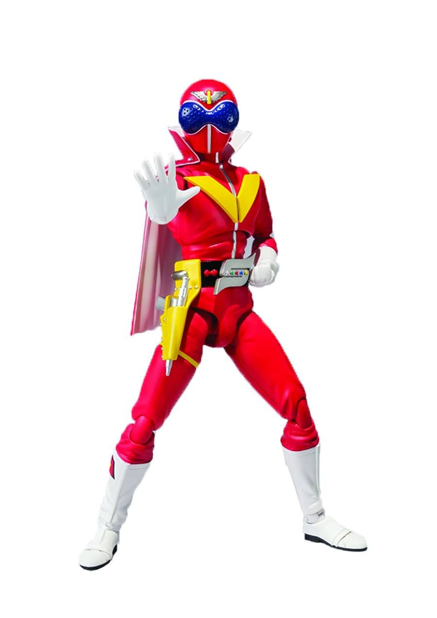 Go Ranger Akaranger SH Figuarts.