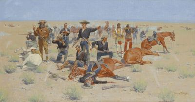Pin On Frederic Remington Paintings