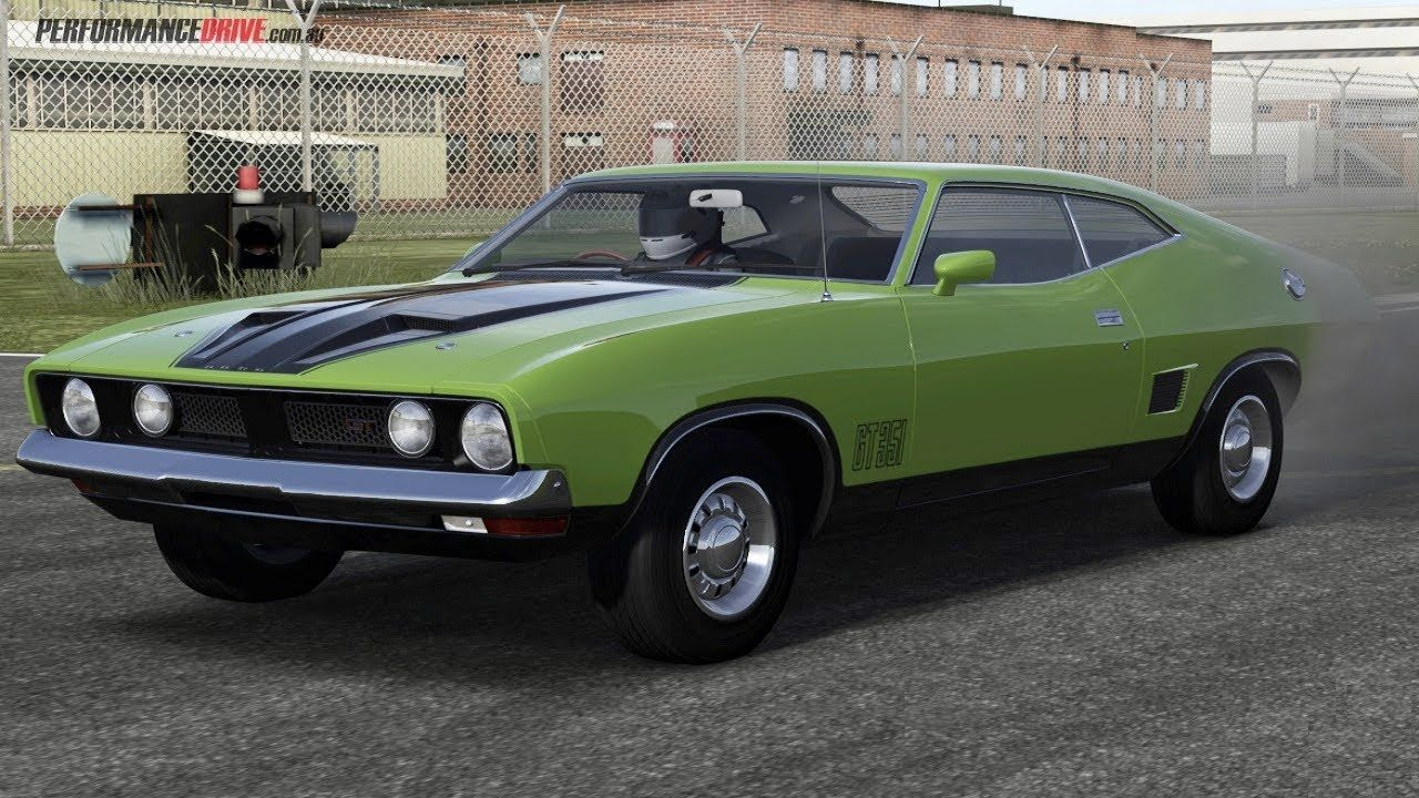 Ford 1973 Xb Falcon Gt The Railroad Track Ford Racing 3