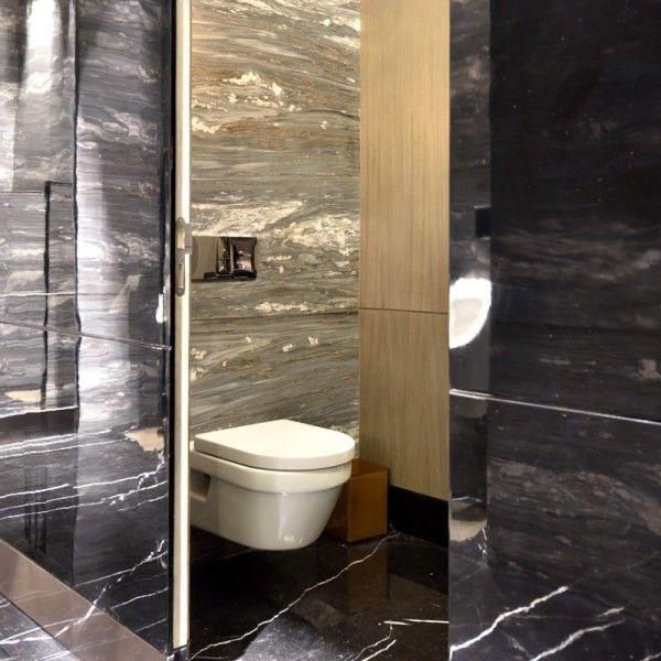 Cuarto de baño público de lujo - Banium Espacios de baños Pinterest - baos de lujo