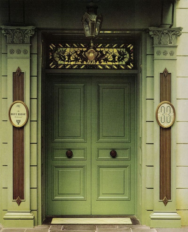 Old Double Doors of Club 33 : doors 33 - Pezcame.Com