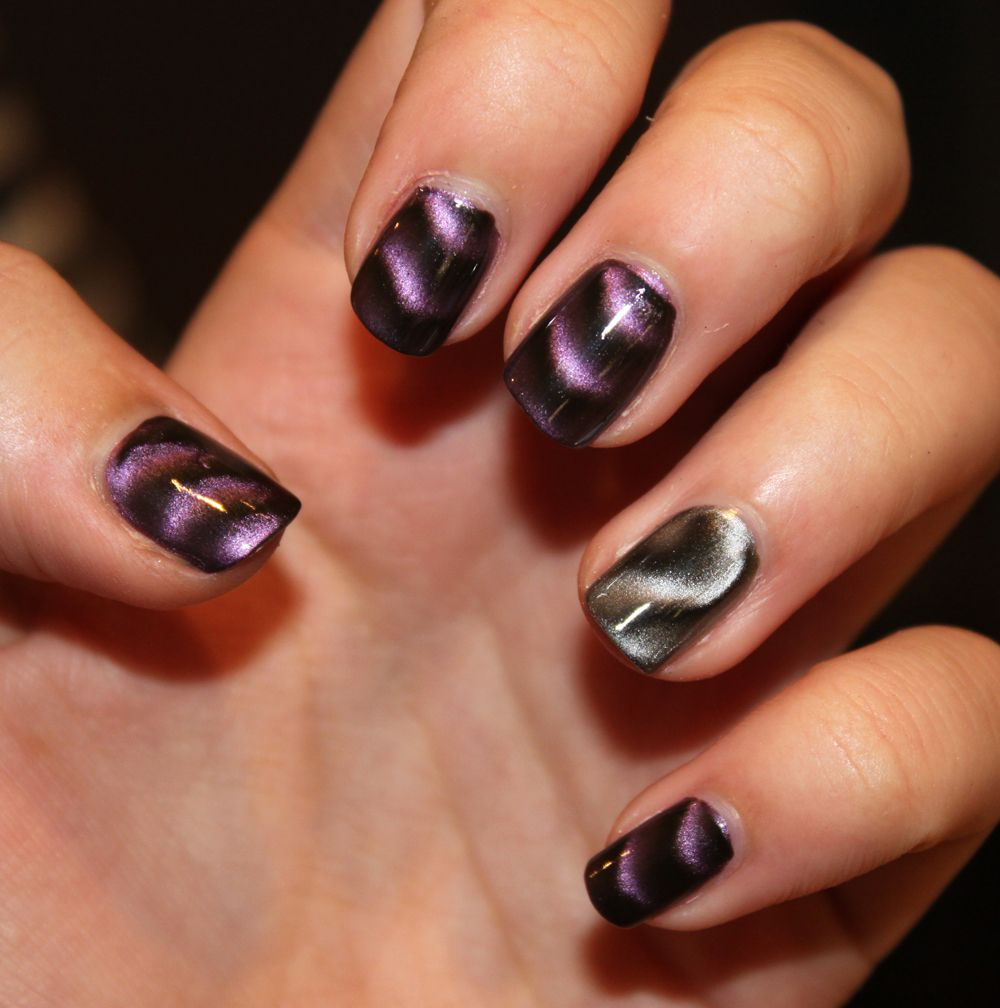 Metallic Nail Polish – Get the Mirror-Effect of Metallic Nail Polish ...