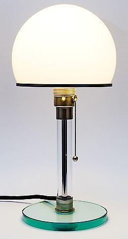 Wilhelm Wagenfeld Table Lamp Products I Like Bauhaus Bauhaus