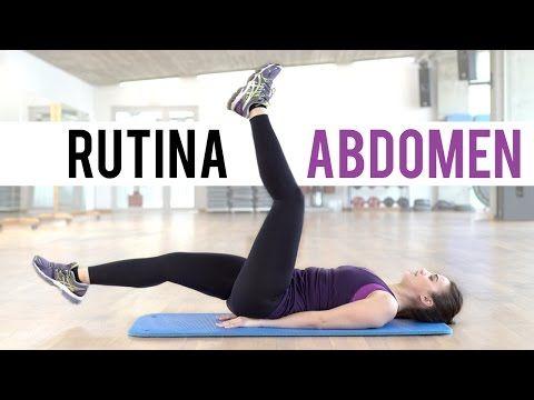 Ejercicios de pectorales, brazos y abdomen en casa - YouTube