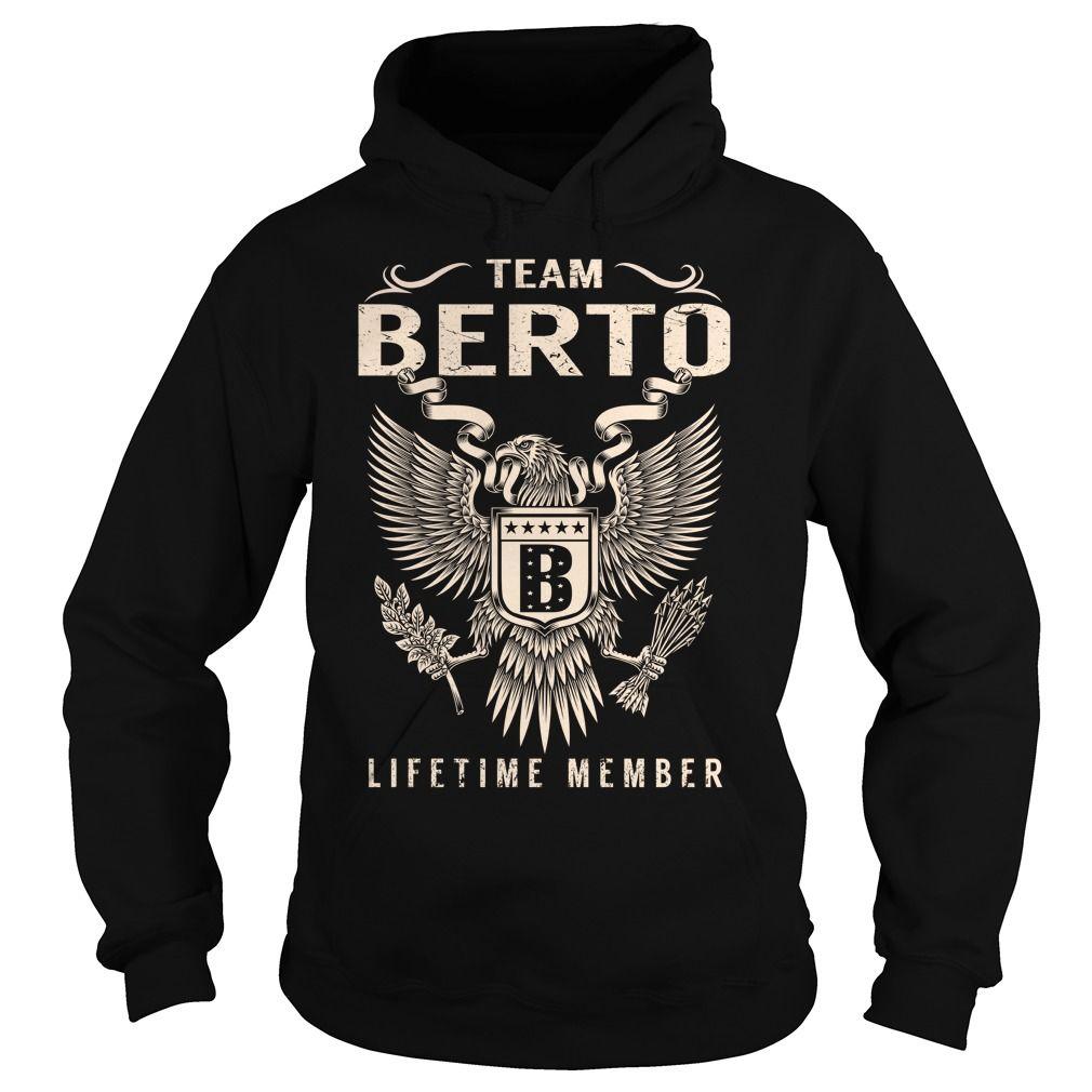 Team BERTO Lifetime Member - Last Name, Surname T-Shirt