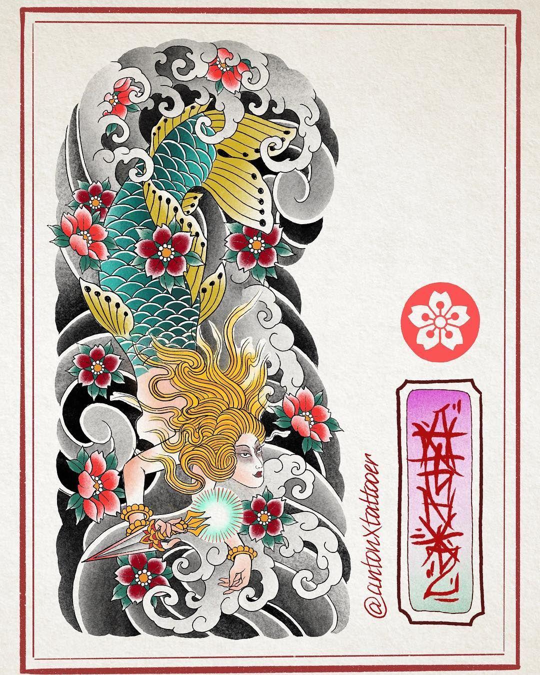 ในภาพอาจจะมี 1 คน | Японские рисунки волны, Японские ...