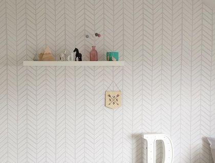 Removable Wallpaper Light Grey Herringbone Pattern Wallpaper Grey Herringbone Wallpaper Removable Wallpaper Herringbone Wallpaper