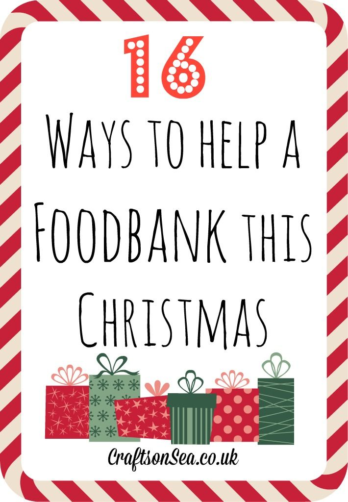 The Best Things To Give To A Foodbank Food Bank Holiday Donations Christmas Service