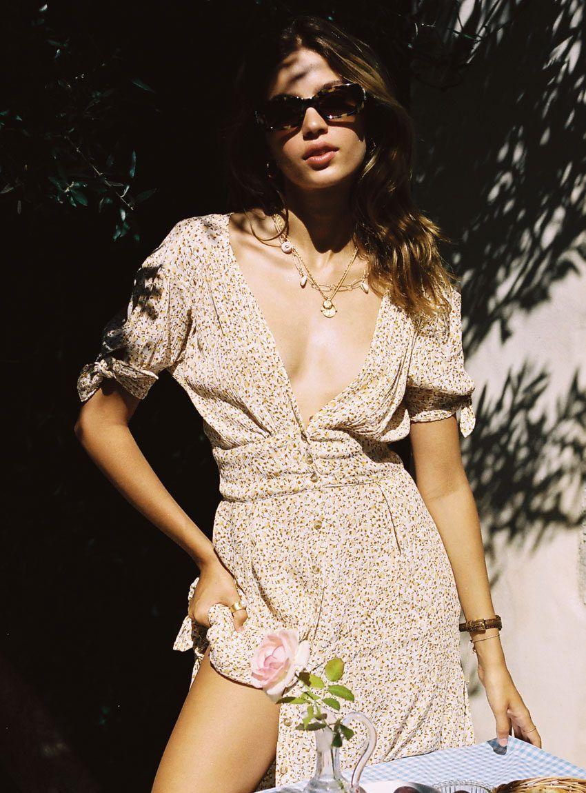 fd0127dece15 Billie Midi Dress - Dahlia Floral Print in 2019 | JUST IN | Dresses ...