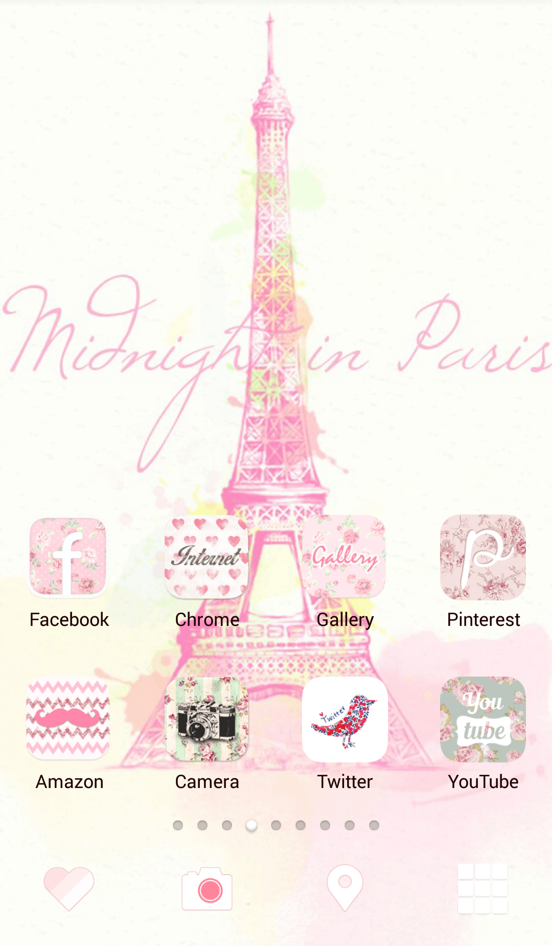 Line Deco Tower Of Eiffel Pink Eiffel Tower Home Screen Eiffel Tower Tower Paris Wallpaper