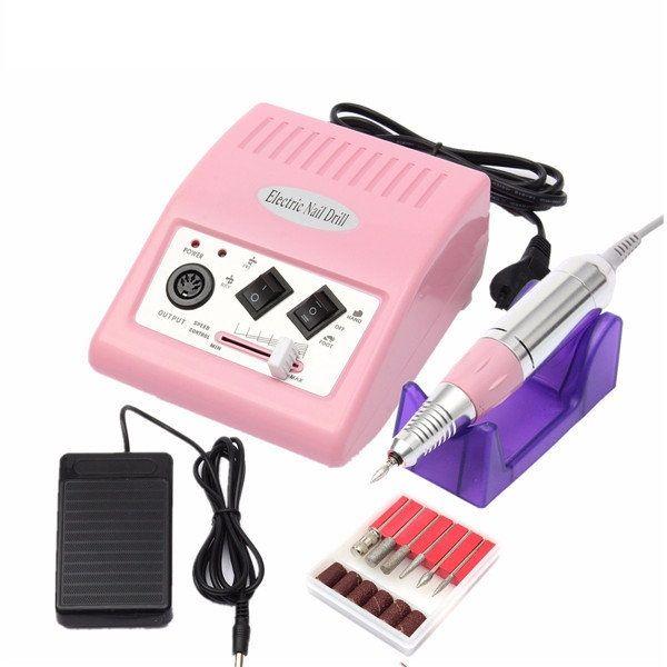 Acrílico máquina del taladro eléctrico de arte de uñas manicura ...