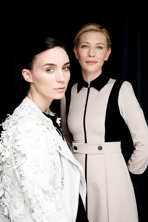 rooneydaily: Rooney Mara and Cate Blanchett photographed by Fabrizio Maltese