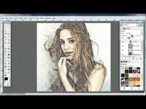 Gimp Tutorial Turn Photo Into Soft Colour Pencil Drawing Gimp Tutorial Photo Editing Tricks Gimp Photo Editing