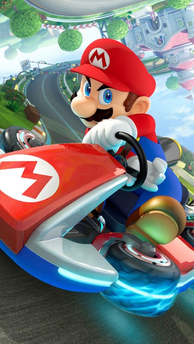 Super Mario Iphone Wallpaper Mario Kart Mario Kart 8 Nintendo