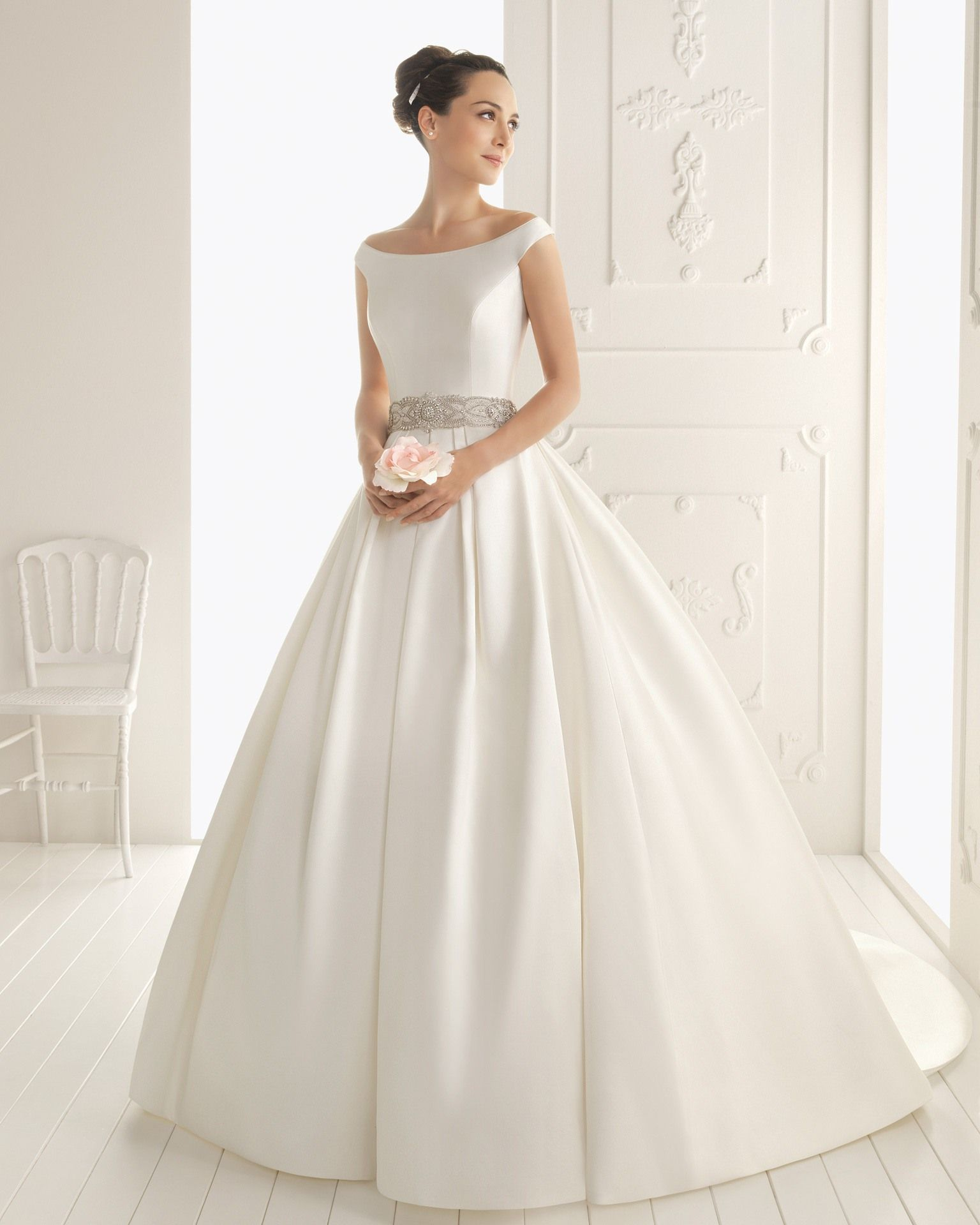 round neck wedding dresses google search