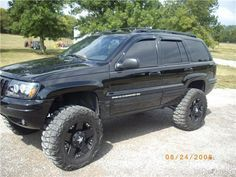 Wj With 6 5 Inch Iro Long Arm Lift Kit And 33x12 50x20 S Jeep Wj