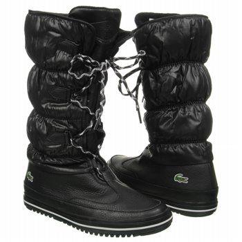 4c7ac45a67f9cf Lacoste Tuilerie PS Boots (Black White) - Women s Boots - 7.0 M