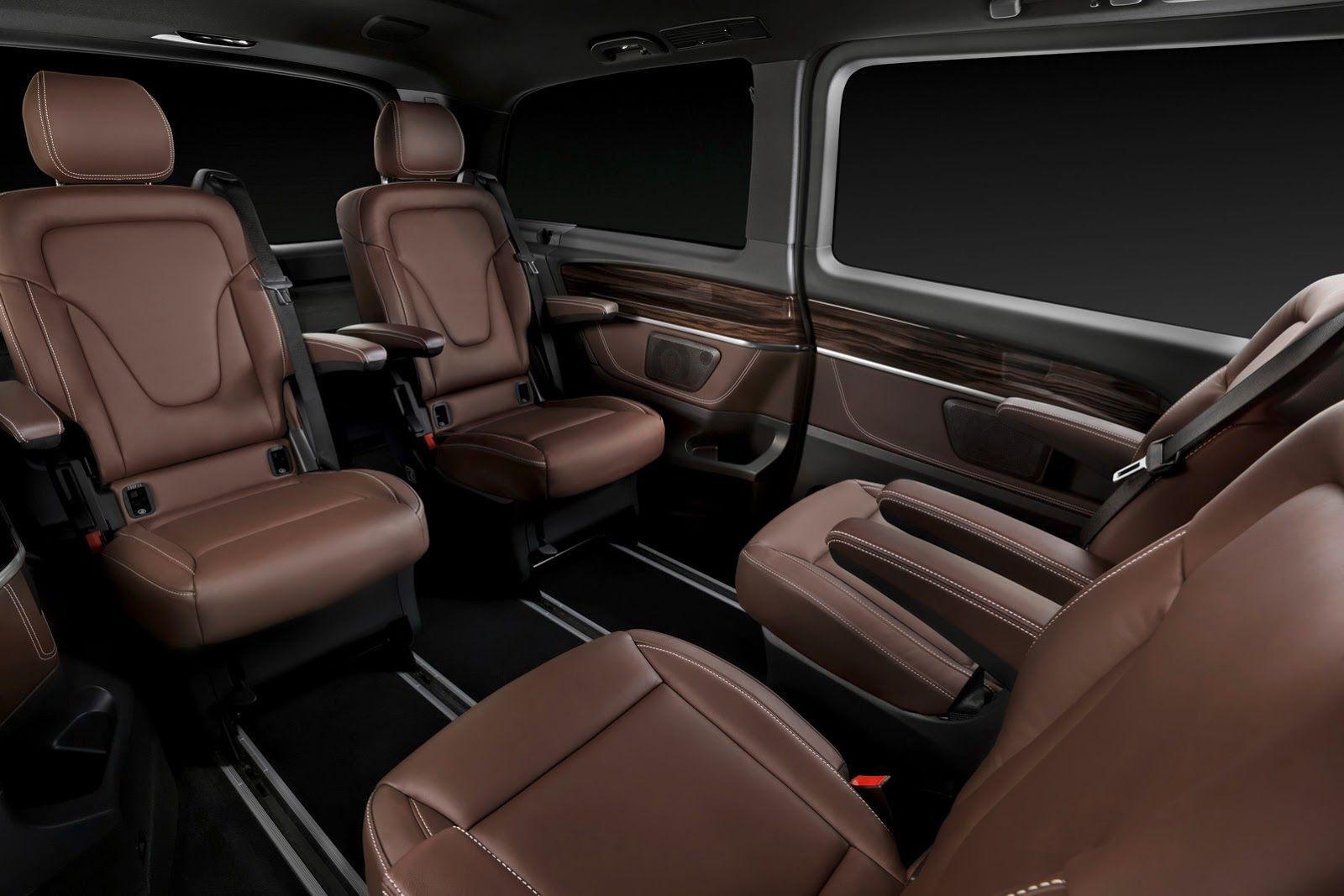 Luxery Mercedes Benz Mini Vans New Mercedes V Class